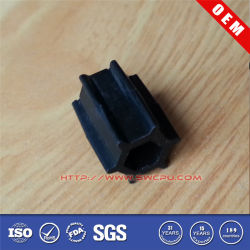 Plastic / Rubber Slurry Spare Parts Pump Impeller
