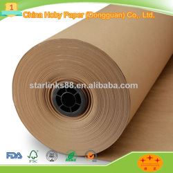 Kraft Paper & White/Brown Kraft Paper& Wrapping Paper with Good Price