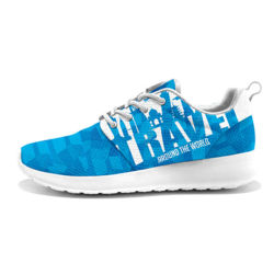 Custom Roshe Running Shoes Sublimation Sports Shoes Prints Sneakers