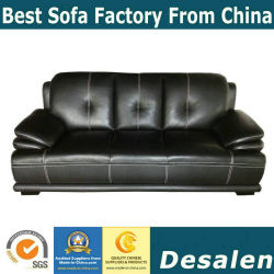 Best Price China Factory Modern Home Furniture Genuine Leather Sofa (B. 939)