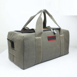 High Quality Wax Canvas Waterproof Military Tactical Duffle Bag