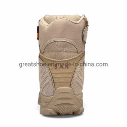 Greatshoe Hot Sale Beige Desert Earthquake Resistant Tactical German Military Boots High Cut Outdoor Men Sport Shoes