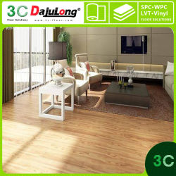 PE PVC Wood Look Interlocking Vinyl Luxury Plank Floor Covering Wholesaler