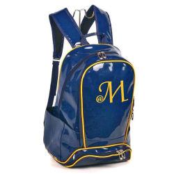 Leather Laptop Computer Notebook Sport School Travel Backpack Bag