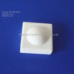 Vulcanizing Ceramic Dimple Tiles for Pulley Laggings (20X20, 25X25 mm)