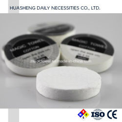 Compressed Towel Tablets Use for Sports Beauty Salon Trip