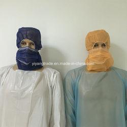 5b9608c91d6 Disposable PP Nonwoven Astronaut Cap with Face Mask