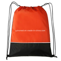 2018 Promotional Backpack Combination Two Colors Travel & Sport Drawstring Bag