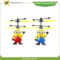 ba15eaf2b Minion Style Cute Induction Aircraft Long Range RC Helicopter