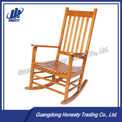 Cy2273 Special Design Antique Wooden Relaxing Rocking Chair