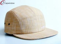 f6f6e3462db Khaki Weave Outdoor Camping Cap with Metal Eyelets