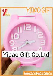 Custom Logo High Quality PVC Cute Alarm Clock (YB-HD-75)