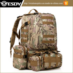 Quality Outdoor Multifunctional Military Hiking Camping Tactical Combination Backpack Camo
