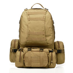 Multi-Misson High Capacity Molle Outdoor Tactical Military Backpack