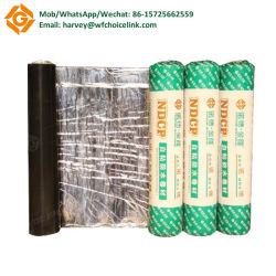 Aluminum Self Adhesive Rubberized Asphalt Cold Applied Felt Building Material