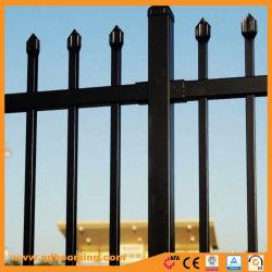 Tubular Powder Coated Garden Fence by Steel Spear Top