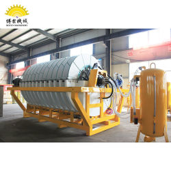 Ceramic Disc Filter Press Used for Slurry Dewatering
