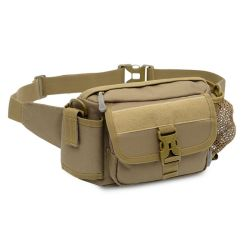 Nylon Outdoor Camouflage Army Sports Riding Waist Hip Purse Bag