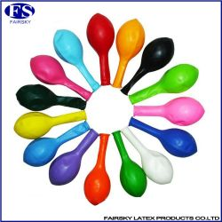 5 Inch Standard Color Natural Latex Balloons for Decoration