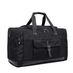 Top Quality Traveling Bag Custom Polyester Travel Bag Sports Gym Bag with Shoe Compartment