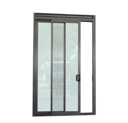Dade Florida Test Waterproof Air Tight Balcony Aluminum Sliding Glass Door  With Air Vent