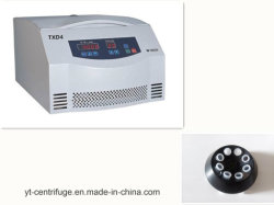 Blood Bank Centrifuge Txd4 Blood Group Testing Equipment with Ce & ISO