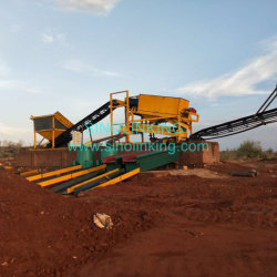 Gold Extraction Alluvial Gold Recovery Equipment Sand Washing Machine