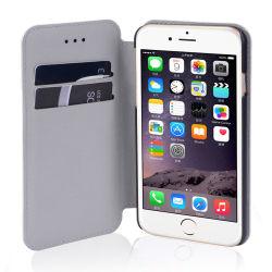 Camo Leather Magnetic Wallet Flip Card Case with Revit Design