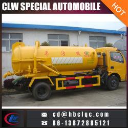6m3 5ton Vacuum Sewer Tank Vehicle Vacuum Sucking Truck