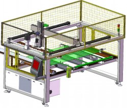 Automatic Lay&up Machine Solar Panel System