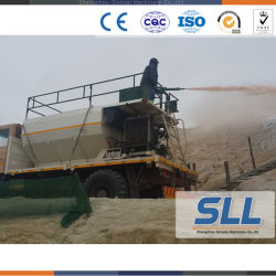 Diesel Engine Soil Spraying Grass Seed Machine Equipment for Greening