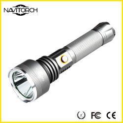 500m Wide Range Ultra Bright 810 Lumens Aluminum Rechargeable Flashlight
