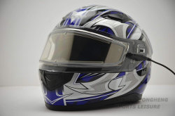 ECE/ DOT Approved Custom Safety Sports Full Face Snowmobile Helmet