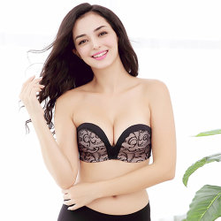 d62caf9f9 2018 New Design One-Pieces Invisible Strapless Bra
