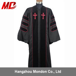 Custom Black Stock Clergy Robes for Adult Wholesale