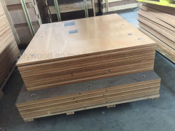 Interior Decoration Flame Retardant Plywood Used as Workshop Floor