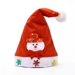 2020 Customized Novo Produto Decoração de Natal luz de LED de Natal Hat Cap