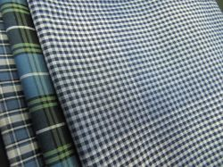 100% coton fils teints Shirts-Lz Poplin6756 pour vérifier