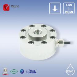 R248 Corrosão de compressão de alta capacidade e o botão do sensor da célula de carga com união roscada