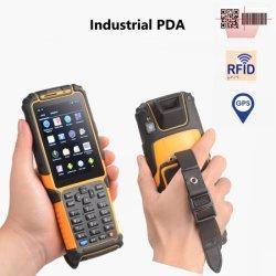 Портативное устройство для сбора данных GPRS/GPS/4G/3G/WiFi/считыватель RFID/штрихкода лазерный сканер КПК-901 служб терминалов