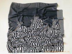 Дамы легкая пружина шарфом 100%полиэстер геометрии печати длинных Шаль