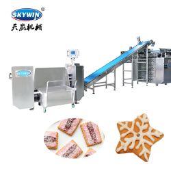 Línea de producción de galletas blandas en China/Small Biscuit de línea de producción/máquina de hacer la galleta de chocolate para la venta