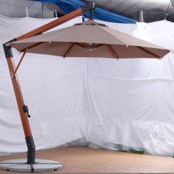 Hardwood Umbrella Patio Beach Parasol