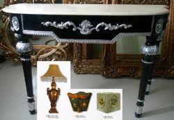 Arts et Métiers (Table, Lampe de bureau, de la cendre panier)