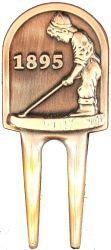 De zilveren Gouden Teller van de Bal van de Magneet van het Hulpmiddel van Divot van de Klem van de Hoed GLB van het Golf voor de Toebehoren van het Golf
