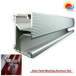 L'aluminium haute résistance 6000série Rails de montage de panneau solaire (400-0005)