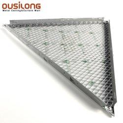 Het decoratieve Roestvrije Akoestische Plafond van het Metaal betegelt het Commerciële Drijvende Plafond van het Roestvrij staal