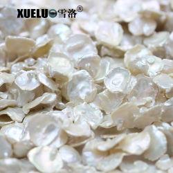 stringhe d'acqua dolce barrocco genuine naturali barrocco di qualità media della perla di 14-15mm AAA Keshi (XL190030)