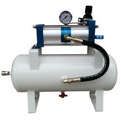 30년 공장 출하 시 고품질 15:1 비율 압축 공기 부스터 펌프 작동