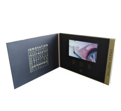 Bildschirm-Video-Broschüre des Zoll-4.3inch LCD